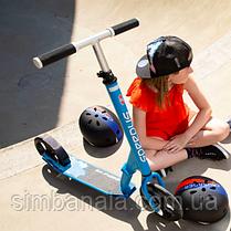 Cамокат PUKY Speed Us One(blue/голубой), для детей и взрослых