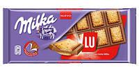 Milka шоколад молочн. с печеньем LU, 100 г