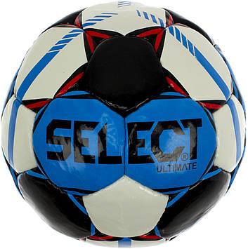 М'яч футбольний Select Ultimate біло-блакитний