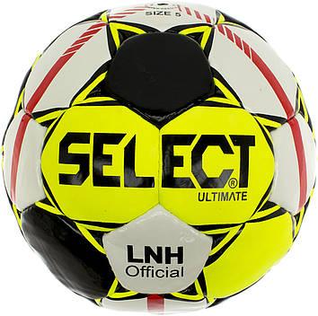 М'яч футбольний Select Ultimate біло-салатовий