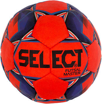 М'яч футбольний для футзалу Select master розмір 4, червоний