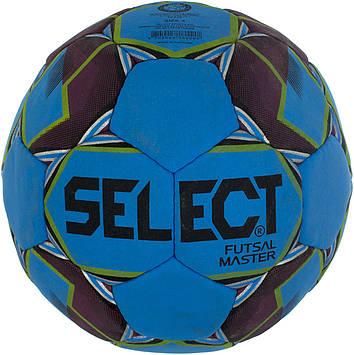 М'яч футбольний для футзалу Select master розмір 4, синій