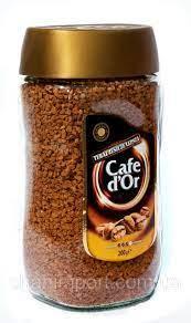 """Швидкорозчинне сублимированное кави Cafe D""""or 200 гр"""