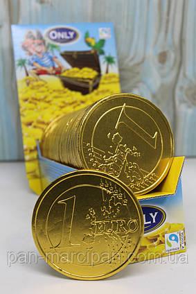 Цукерка монета-євро Only  21.5г