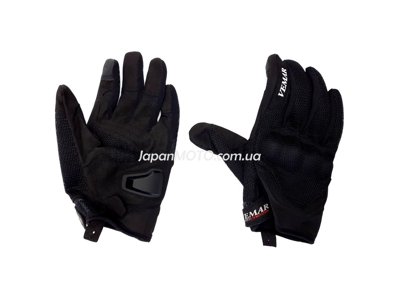 Перчатки VEMAR VE-173 сенсорный палец (size: M, черные)