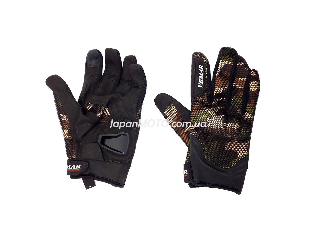 Перчатки VEMAR VE-173 сенсорный палец (size: XL, хаки)