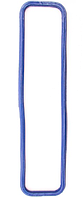 Прокладка клапанної кришки ЯМЗ-238 синя силіконова / 238-1003270