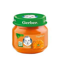 Пюре овочеве Gerber Гарбуз, 6+, 80г