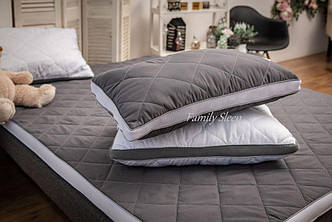 Подушка анатомическая Strong Sleep 3D collection Gray-White 60x40