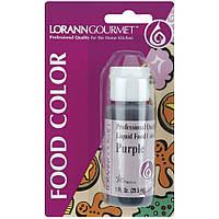 Жидкий пищевой краситель Lorann Oils Purple (23535810852)