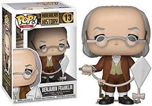 Фігурка Funko Pop Бенджамін Франклін Американська Історія Benjamin Franklin 10см FP AH 13