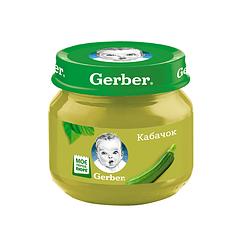 Пюре овочеве Gerber Кабачок, 6+, 80г