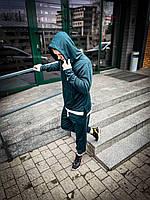 Спортивный костюм унисекс Asos Long темно-зелёный 2021