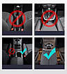 Автомобільний органайзер між сидіннями Baseus Elegant Car Storage Box Шкіра Чорний (CRCWH-01), фото 6