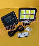 Светильник Solar Sensor Light BK-128-6COB, фото 2