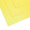 Фоамиран мерцающий 1,5мм лимонный 60х70см