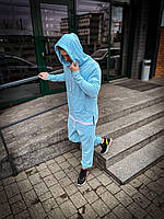 Спортивный костюм унисекс Asos Long голубой 2021