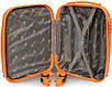 Валіза пластикова на 4х колесах міні   XS помаранчева | 20х51х35 см | 2.400 кг | 27 л | FLY 310, фото 7