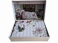 Комплект постельного белья Maison D'or Alita Rose сатин 220-200 см розовый