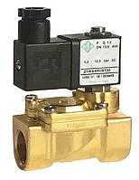 """Электромагнитный клапан 1/2"""", - 10 + 90 °С, 21WA4ROB130 ODE Италия, нормально закрытый для воды. Электроклапан"""