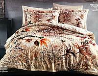 Комплект постельного белья Maison D'or Devana сатин 220-200 см бежевый