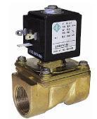 """Электромагнитный клапан 3/4"""", - 10 + 90 °С, 21H9КВ180 ODE Италия, нормально закрытый для воды. Электроклапан"""