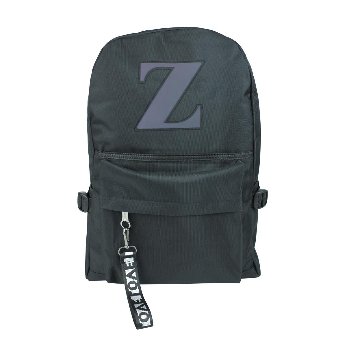 Рюкзак городской чёрный Z унисекс