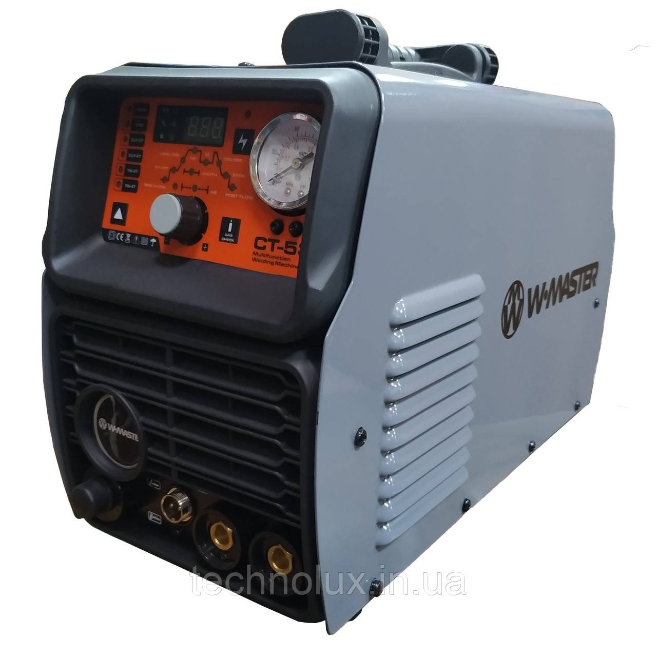 Багатофункціональний зварювальний інвертор W-MASTER СТ-530