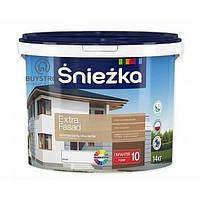 Śnieżka EXTRA FASAD - Матова акрилова емульсійна фарба для фасадів і зовнішніх стін