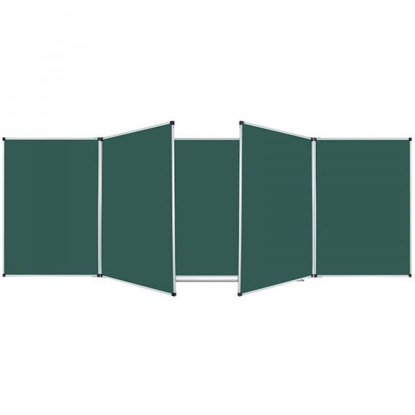 Школьная доска магнитная меловая семиповерхностная 3000х1000 мм