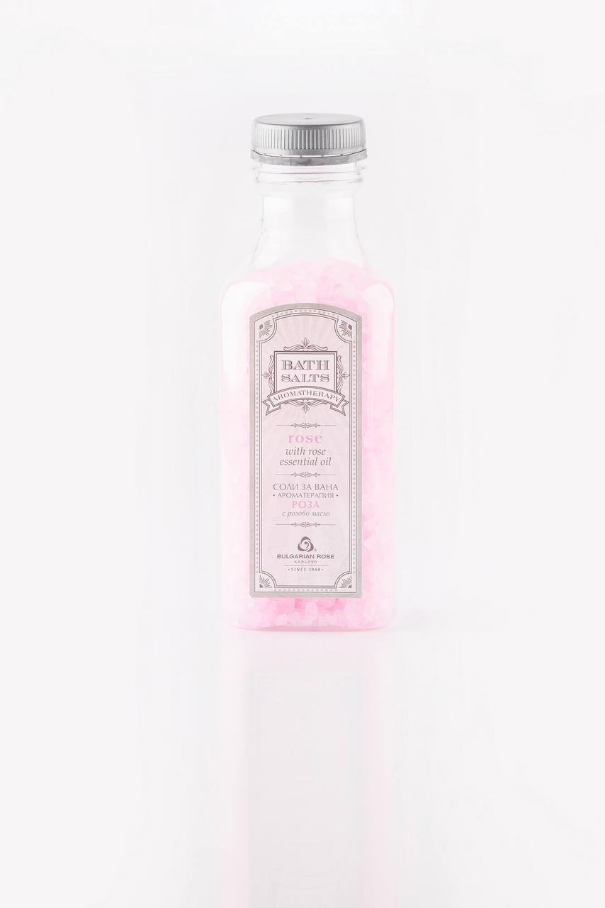 """BULGARIAN ROSE BATH SALTS AROMATHERARY Сіль для ванни-ароматерапія """"Троянда"""""""