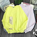 Жіноче худі, турецька двунить, р-р універсальний 42-46 (жовтий), фото 3