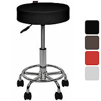 Барный стул Bonro B-830 регулируемый кресло для кухни барной стойки табурет на колесах без спинки