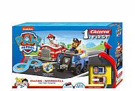 Автотрек Carrera First Paw Patrol Щенячий патруль Чейз и Маршалл На трассе 2,4 м (CR-20063033)