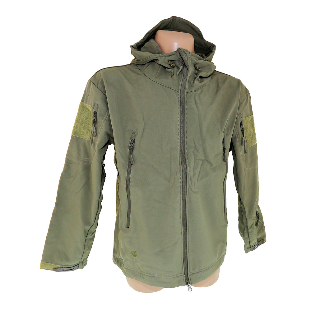 Куртка тактичні оливкова Shark Skin Soft Shell Olive BE0506UA
