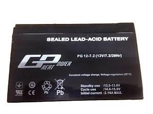 Акумулятор GREAT POWER(GP) 12 В, 7.2 Ач