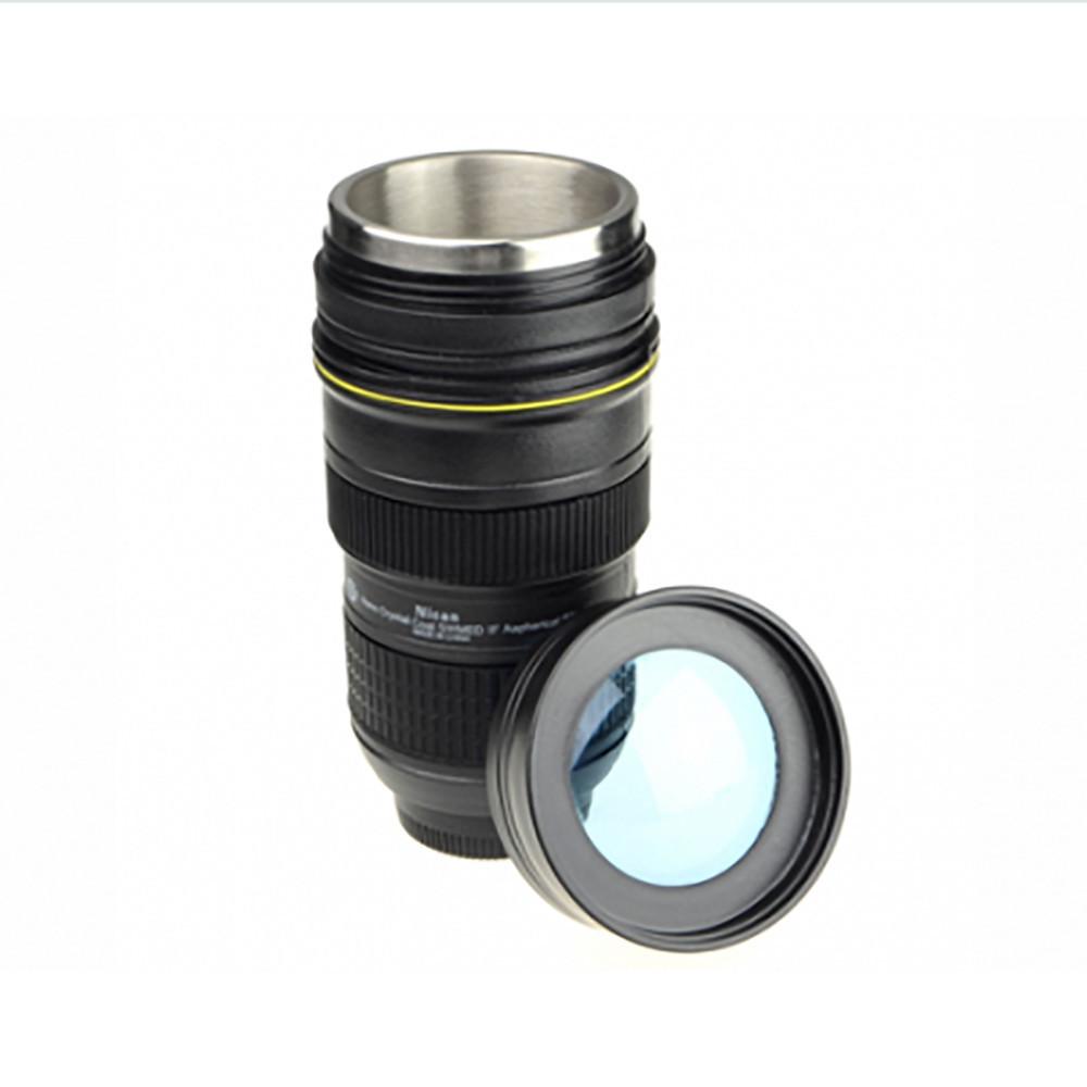 Чашка обьектив термо NICAN Cup Термокружка с подогревом от прикуривателя