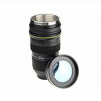 Чашка обьектив термо NICAN Cup Термокружка с подогревом от прикуривателя, фото 1