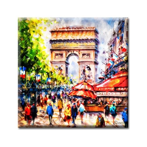 Картины на холсте Glozis Картина Glozis Paris