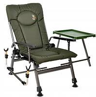 Кресло карповое складное со столиком и подставкой для удилища F5R ST/P (2021). Есть самовывоз в Киеве.