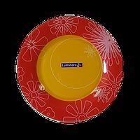 Тарелка обеденная Luminarc Graphic Flowers Red 25 см