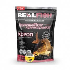 "Прикормка Real Fish ""Короп"" (Горох), фото 2"