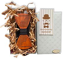 Деревянная бабочка - Галстук в подарочной упаковке 8378