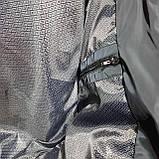 Чоловіча куртка весняна (Великих розмірів) демісезонна класична темно синя, фото 9