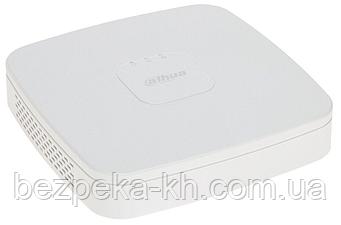4-канальный AI сетевой видеорегистратор с PoE  DHI-NVR2104-P-I