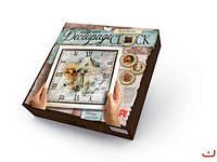 Комплект креативного творчества  Decoupage Clock , с рамкой,  DKC-01-02
