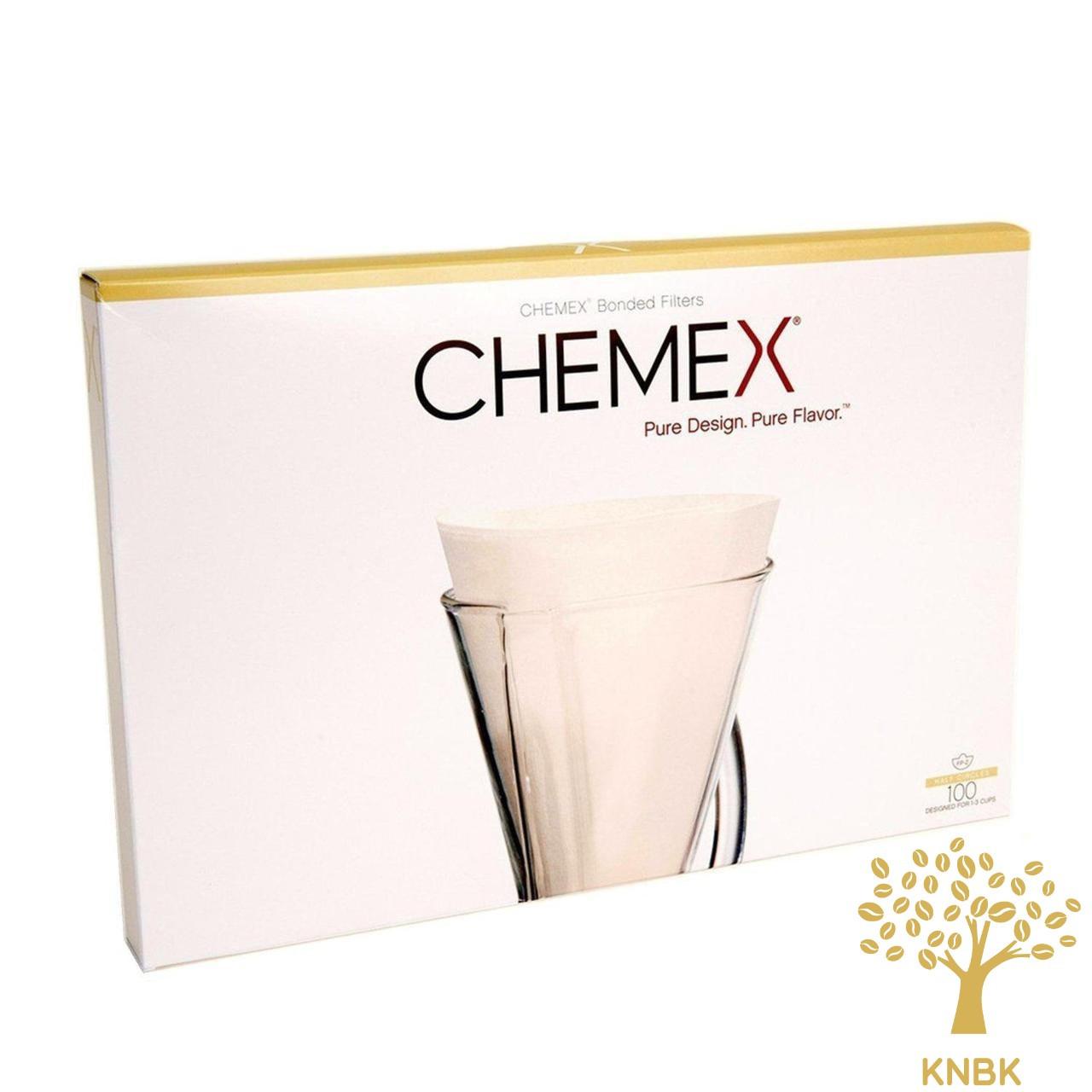 Фильтры для кемекса Chemex FP-2 (Белые 10 шт.)