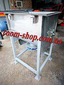 Шнековый смеситель, змішувач, с нержавеющей стали, с нержавейки, на 80 литров, пищевой