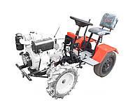 """Адаптер-мототрактор ТМ """"Ярило"""" (для мотоблоков воздушного охлаждения 6-9 л.с., + колеса), фото 1"""