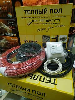 6 м2 Тепла підлога електрична IN-THERM ECO 1080W Fenix